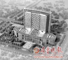 枣庄市中医院将迁至新城