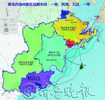 青岛西海岸新区战略布局.