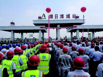 潍日高速滨海连接线建成通车