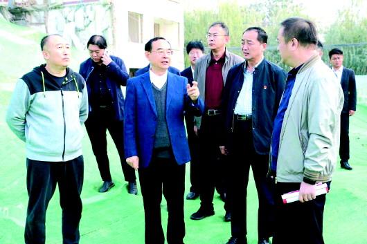吕灿华调研扬尘污染防治工作